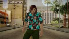 DLC Smuggler Female Skin for GTA San Andreas