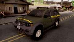 Mitsubishi Pajero Army Police of Brazil