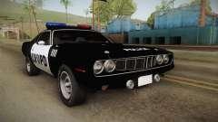 Plymouth Hemi Cuda 426 Police LVPD 1971 for GTA San Andreas