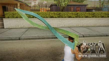 Hyrule Warriors - Fierce Deity Sword for GTA San Andreas
