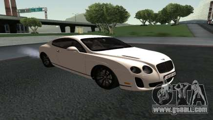 Bentley Continental GT Armenian for GTA San Andreas