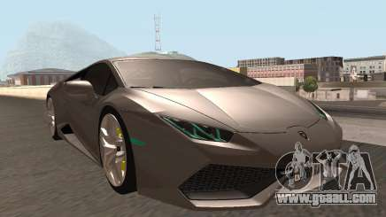 Lamborghini Huracan LP 610-4 SA Plates for GTA San Andreas