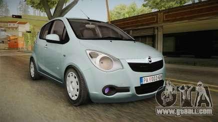 Opel Agila for GTA San Andreas