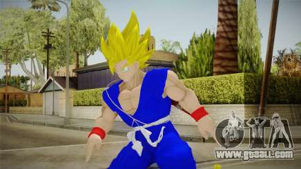 Goku Original DB Gi Blue v4 for GTA San Andreas