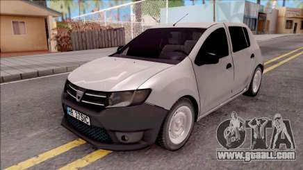Dacia Sandero 2013 for GTA San Andreas