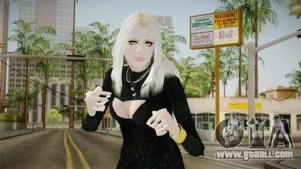 Kesha Skin for GTA San Andreas