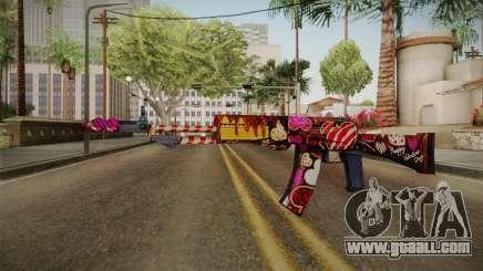 SFPH Playpark - Chocolate AN94 for GTA San Andreas