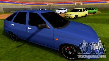 VAZ 2112 SA Plates for GTA San Andreas