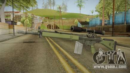 CS-GO - SG1 Sniper Rifle for GTA San Andreas