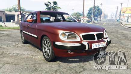 GAZ 3111 Volga [replace] for GTA 5