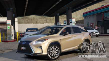 Lexus RX450H F-Sport Final for GTA 5