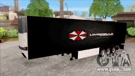 Trailer Biohazard Umbrella Corp. for GTA San Andreas