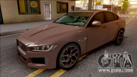 Jaguar XE-S 2015 for GTA San Andreas