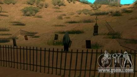 Ghost in the village of El Castillo del Diablo for GTA San Andreas