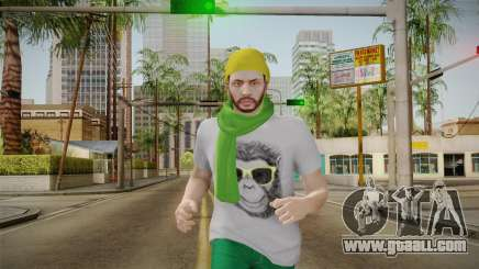 GTA Online - Hipster Skin 2 for GTA San Andreas