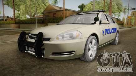 Chevrolet Impala Police for GTA San Andreas