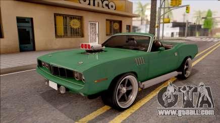 Plymouth Hemi Cuda 426 Cabrio 1971 for GTA San Andreas