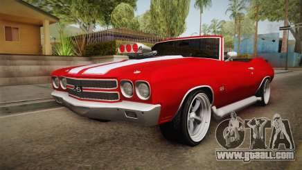 Chevrolet Chevelle SS Cabrio 1970 for GTA San Andreas