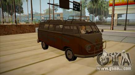 Volkswagen Samba BUS 1959 for GTA San Andreas