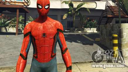 Spiderman [Add-On Ped] 2.2 for GTA 5