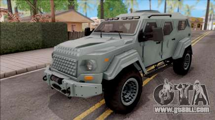 Terradyne Gurkha LAPV for GTA San Andreas
