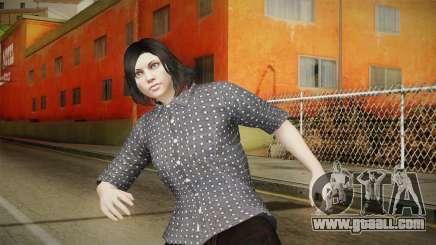 GTA Online: SmugglerRun Female Skin for GTA San Andreas