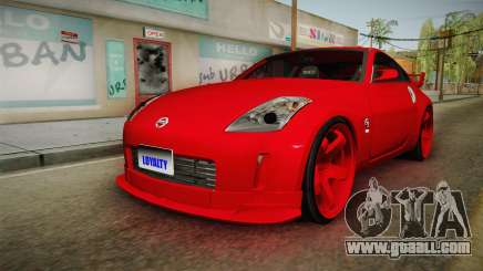Nissan 350Z coupe for GTA San Andreas