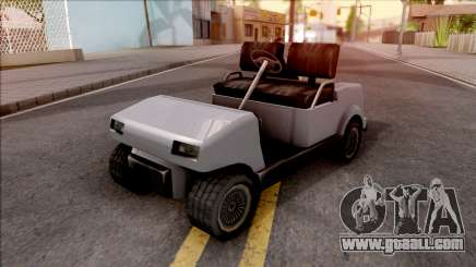 Roofless Civilian Caddy for GTA San Andreas