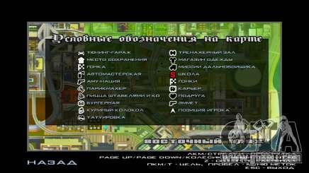 GTA V Radar Icons for GTA San Andreas