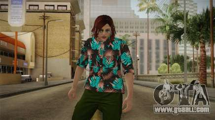 DLC Smuggler Female Skin for GTA San Andreas