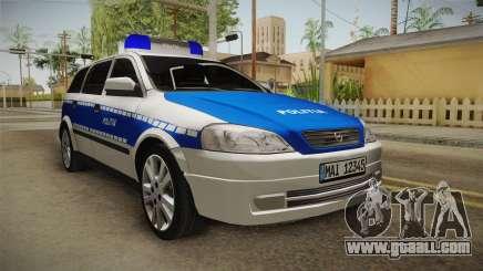 Opel Astra G Politia Romana for GTA San Andreas
