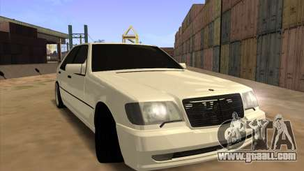 Mercedes-Benz S63 Brabus for GTA San Andreas