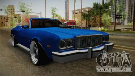 Ford Gran Torino Cabrio 1975 for GTA San Andreas
