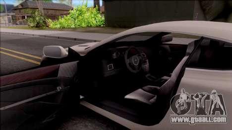 Aston Martin DB9 Drift Style - Race Handling for GTA San Andreas inner view