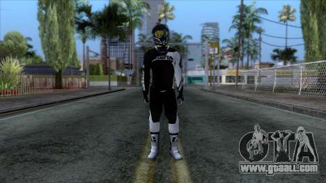Motorcyclist Skin for GTA San Andreas second screenshot