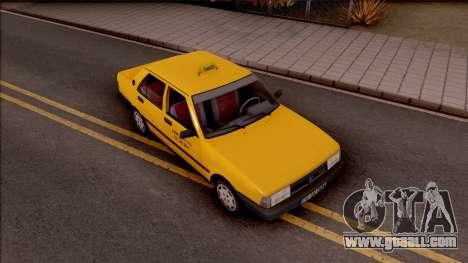 Tofas Sahin Taxi 1999 for GTA San Andreas right view