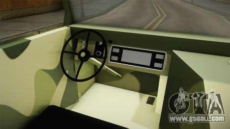 TAM 110 Vojno Vozilo for GTA San Andreas inner view