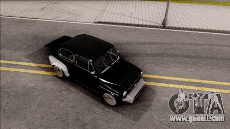 Fiat Abarth 1000TC Rally for GTA San Andreas right view