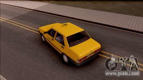 Tofas Sahin Taxi 1999 for GTA San Andreas back view