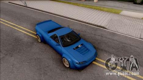 Nissan Skyline R32 Pickup Rocket Bunny v2 for GTA San Andreas right view