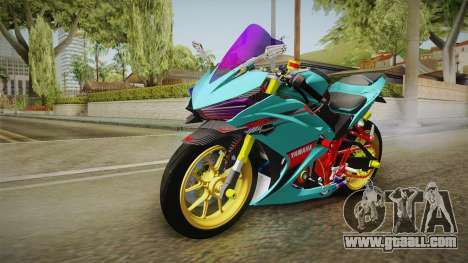Yamaha R25 Contest for GTA San Andreas back left view