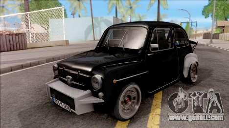 Fiat Abarth 1000TC Rally for GTA San Andreas