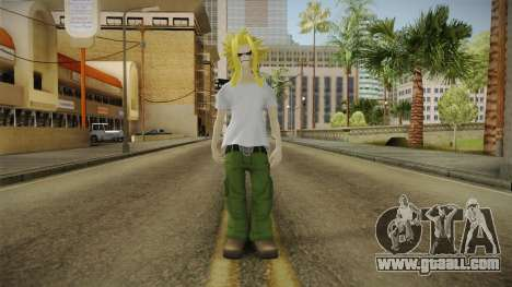 My Hero Academia - Toshinori Yagi for GTA San Andreas second screenshot