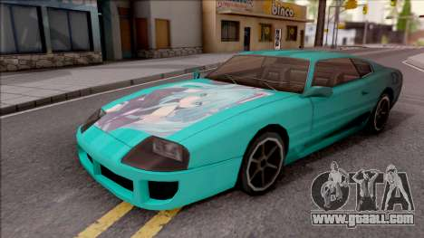 Miku Hatsune Jester Car for GTA San Andreas