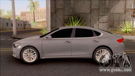 Hyundai Azera 2018 for GTA San Andreas left view