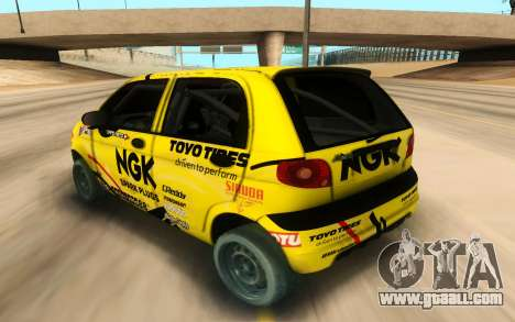 Daewoo Matiz for GTA San Andreas left view