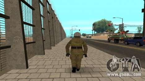 The officer of the Ministry V. 2 for GTA San Andreas second screenshot