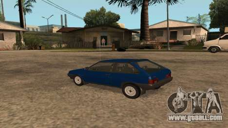 VAZ-2108 on the radio for GTA San Andreas left view