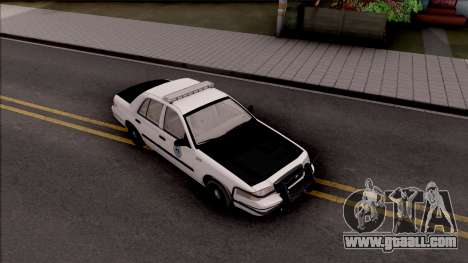 Ford Crown Victoria 2009 Des Moines PD for GTA San Andreas right view