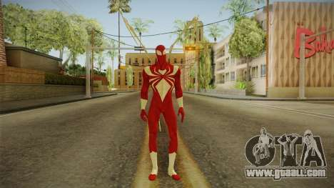 Marvel Ultimate Alliance 2 - Iron Spider v1 for GTA San Andreas second screenshot
